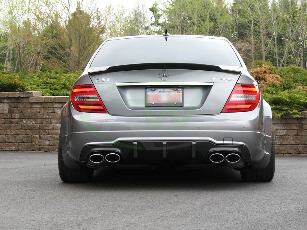 big fin diffuser for a mercedes w204 c63 amg welcome to. Black Bedroom Furniture Sets. Home Design Ideas