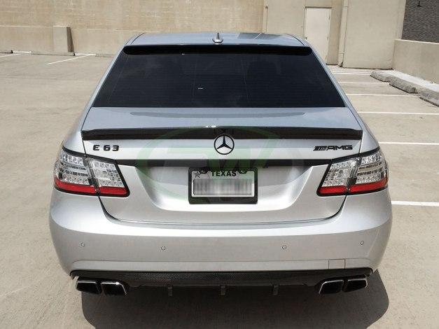 RW-Carbon-Fiber-DTM-Diffuser-Trunk-Spoiler-Mercedes-W212-1