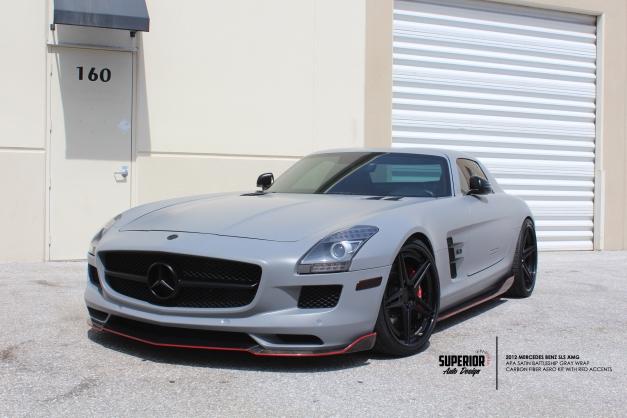 RW-Carbon-Fiber-Mercedes-SLS-AMG-Front-Lip-Diffuser (5)