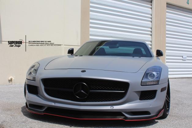 RW-Carbon-Fiber-Mercedes-SLS-AMG-Front-Lip-Diffuser (7)