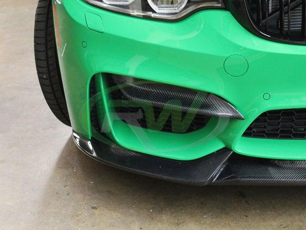 RW-Carbon-Fiber-Upper-Bumper-Splitters-BMW-F80-M3-2