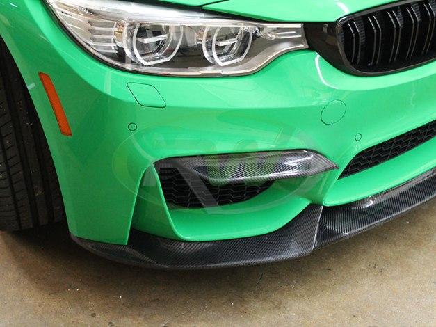 6240a6196d1 Product Release  BMW F8x M3 M4 Carbon Fiber Upper Splitters ...