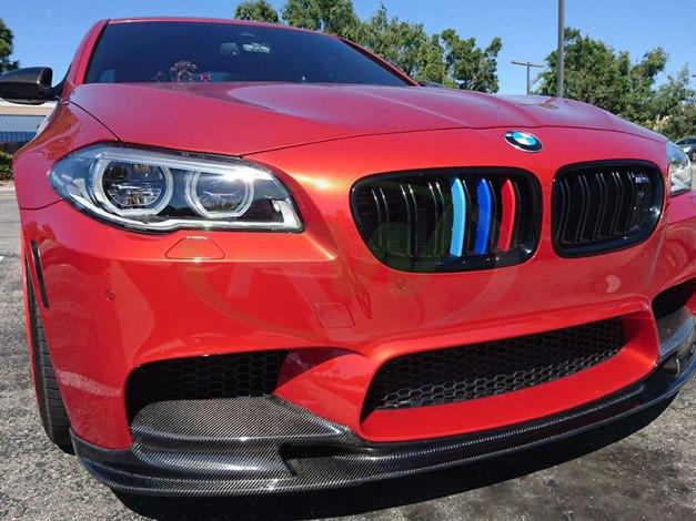 RW-Carbon-Fiber-3D-Style-Front-Lip-Red-BMW-F10-M5-2