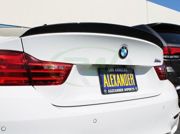 RW-Carbon-Fiber-3D-Style-Trunk-Spoiler-White-BMW-F82-M4-3