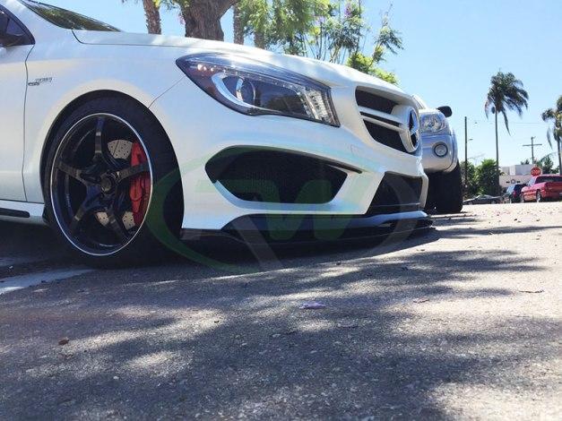 RW-Carbon-Fiber-Front-Lip-Spoilers-Mercedes-CLA45-2