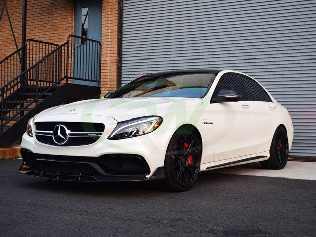 RW-Carbon-Fiber-Brabus-Style-Front-LIp-Mercedes-W205-C63-AMG-3