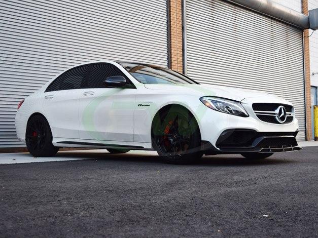 RW-Carbon-Fiber-Brabus-Style-Front-LIp-Mercedes-W205-C63-AMG-5