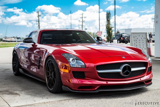 RW-Carbon-Fiber-Front-Lip-and-Sides-Mercedes-SLS-AMG-1