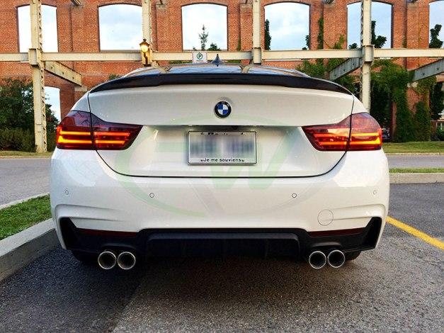 RW-Carbon-Poly-Quad-Diffuser-Perf-Trunk-Spoiler-BMW-F36-435i-1