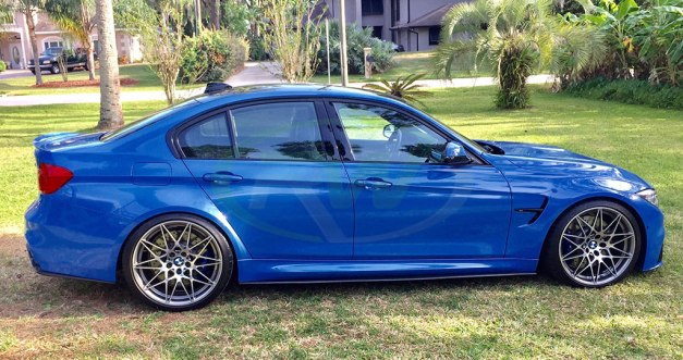 Custom Blue BMW F80 M3 Competition Package | Welcome to the RW Carbon Blog!