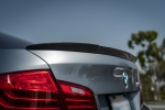 rw carbon fiber bmw f10 m5 arkym style trunk spoiler and dtm style rear diffuser