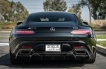 rw carbon fiber mercedes amg gas with front lip and rear diffuser